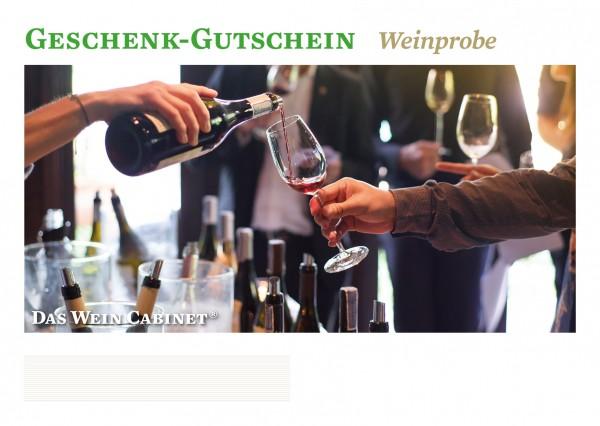 Gutschein für Weinprobe